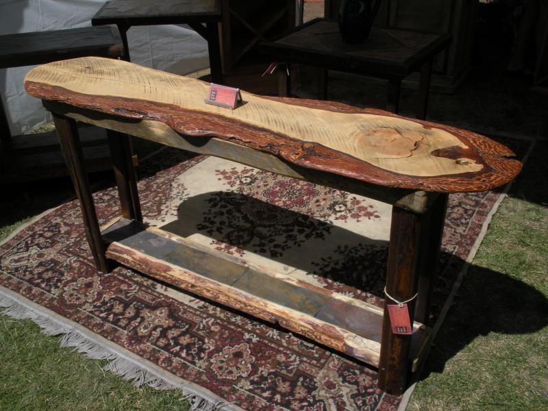 Doug Fir Sofa Table