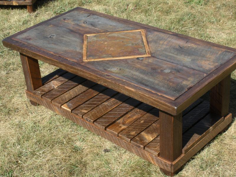Awesome CUSTOM COLLECTION 2. Custom Coffee Table. 100 Year Old Barn Board ...