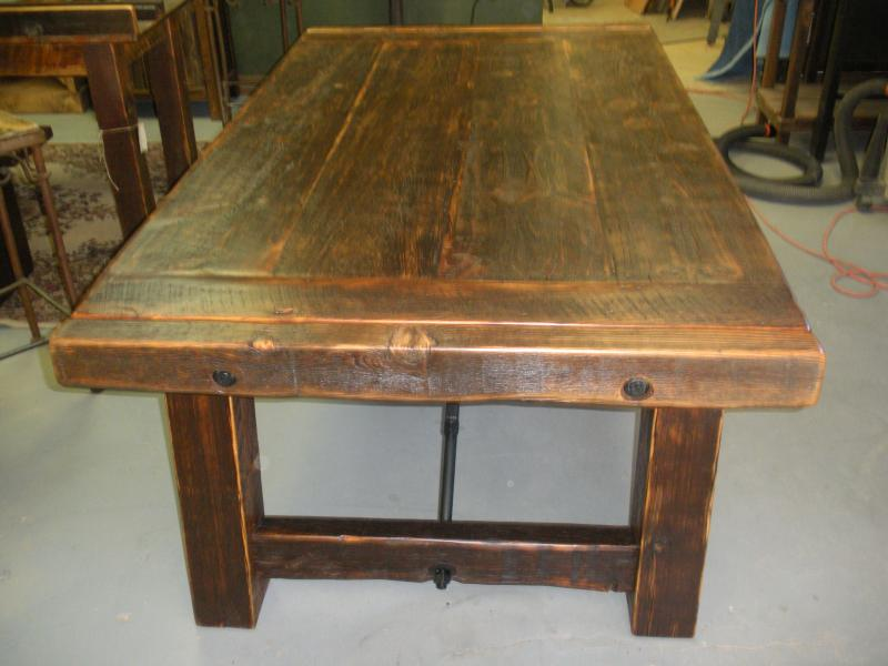 Amazing Reclaimed Barn Wood Dining Table 800 x 600 · 51 kB · jpeg